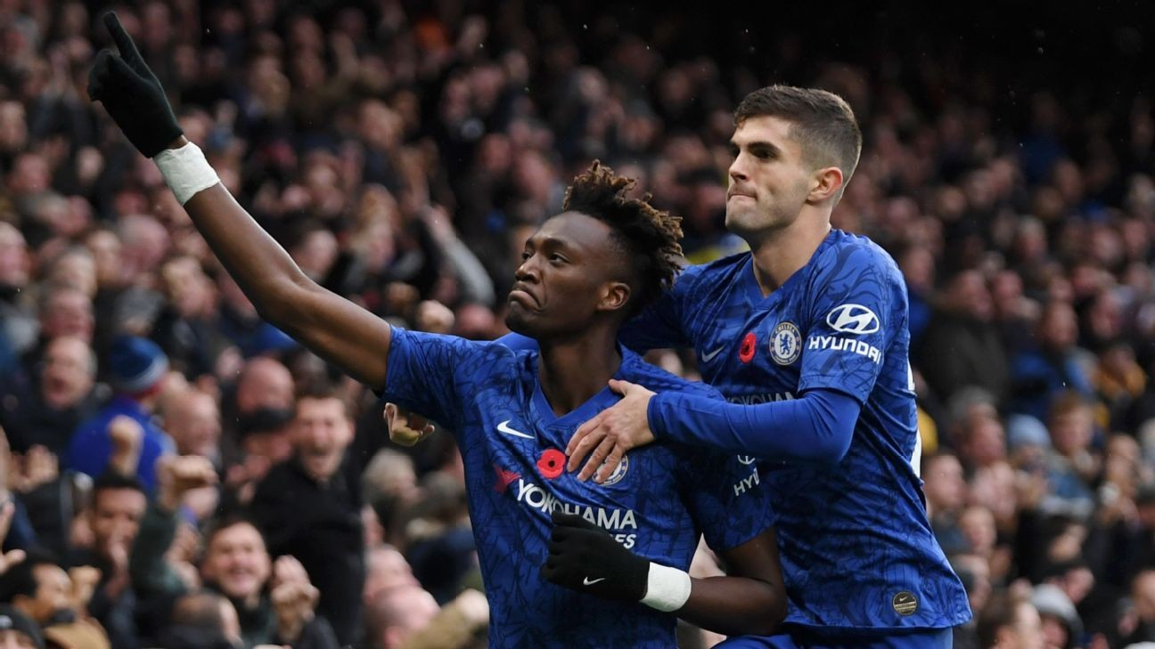 Christian Pulisic, Willian 8/10 as Chelsea win sixth Premier League game in a row