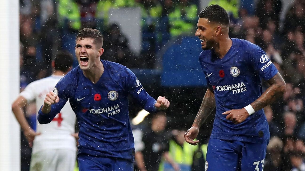 Christian Pulisic, Tammy Abraham on target as Chelsea go second