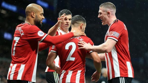 Tottenham 1-1 Sheffield United: George Baldock salvages point for Blades
