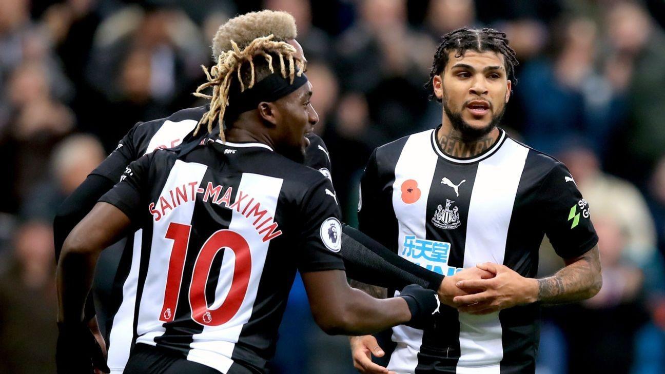Newcastle's DeAndre Yedlin, Ciaran Clark strike in comeback win over Bournemouth