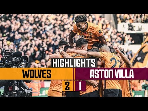 Spectacular Neves strike & a cool Jimenez finish seals the win! Wolves 2-1 Aston Villa | Highlights