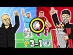 3-1! Handball? Pep LOSES IT! Liverpool vs Man City (2019 Goals Highlights Fabinho, Trent, Salah)
