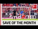 Top 5 Saves October 2019 – Vote for Your Save of the Month
