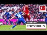 Top 5 Best Skills October - Lewandowski, Bellarabi, da Costa & More