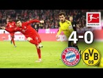 FC Bayern München vs. Borussia Dortmund I 4-0 I Der Klassiker - Highlights Worldwide Commentary
