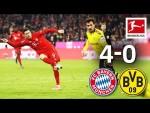 FC Bayern München vs. Borussia Dortmund I 4-0 I Der Klassiker – Highlights Worldwide Commentary