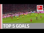 Lewandowski, Bellarabi, Hennings & More – Top 5 Goals on Matchday 11