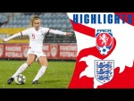 Czech Republic 2-3 England | Williamson's First Goal Wins It Late! | Official Highlights | Lionesses