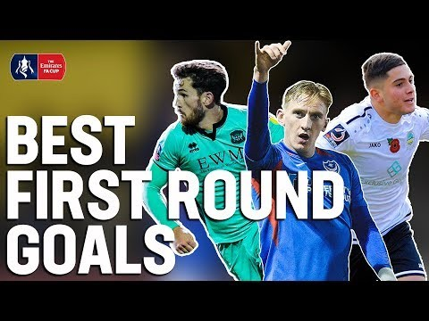 Debut Winners, Solo Goals & Unstoppable Screamers | Goals of the First Round | Emirates FA Cup 19/20