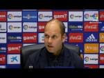 Rueda de prensa de José Alberto López tras el Real Oviedo vs Real Sporting (0-0)