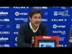 Rueda de prensa de  Víctor Sánchez del Amo tras el AD Alcorcón vs Málaga CF (1-0)