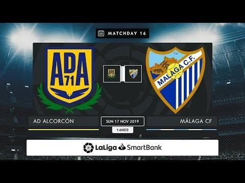 AD Alcorcón - Málaga CF MD16 D1400
