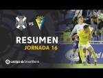 Resumen de CD Tenerife vs Cádiz CF (1-1)