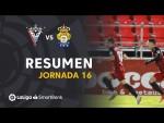 Resumen de CD Mirandés vs UD Las Palmas (2-1)