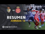 Resumen de SD Ponferradina vs Girona FC (1-1)
