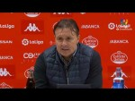Rueda de prensa de Cristóbal Parralo tras el CD Lugo vs Real Racing Club (1-1)