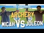 ARCHERY CHALLENGE | MICAH vs JOLEON, EPISODE 2