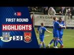 Three Second-Half Goals Send Eastleigh Through! | Eastleigh 3-0 Stourbridge | Emirates FA Cup 19/20