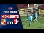 Addai Stunner Seals Win for Robins! | Swindon Town 0-1 Cheltenham Town | Emirates FA Cup 19/20