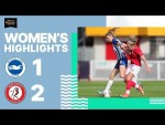 Brighton & Hove Albion Women 1 Bristol City 2