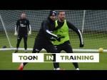 TOON IN TRAINING | Newcastle United Prepare for Aston Villa