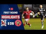 Lavery Winner Sends Darlington Through | Darlington 0-1 Walsall | Emirates FA Cup 19/20