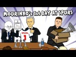 Jose Mourinho's First Day at Spurs!