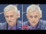 Jose Mourinho's first press conference as Tottenham Manager