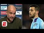 Pep Guardiola sternly defends Bernardo Silva over racism ban | Premier League