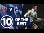 10 OF THE BEST | SPURS BEST GOALS AGAINST WEST HAM | Ft. Son, Bale & Defoe