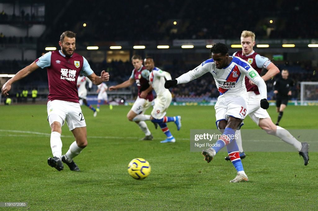 VIDEO: Jeffrey Schlupp nets first league goal for Crystal Palace against Burnley