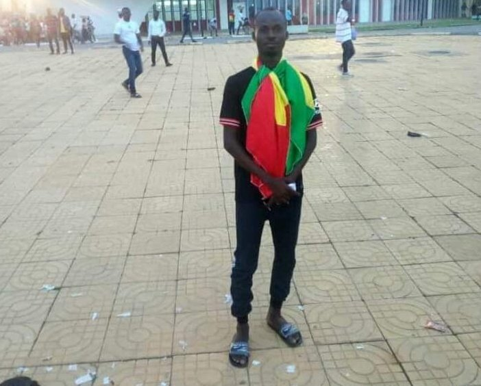 Cape Coast pitch invader wants to become professional footballer