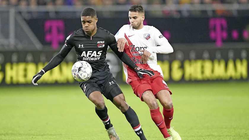 AZ Alkmaar forward Myron Boadu dreams of Champions League football with the club