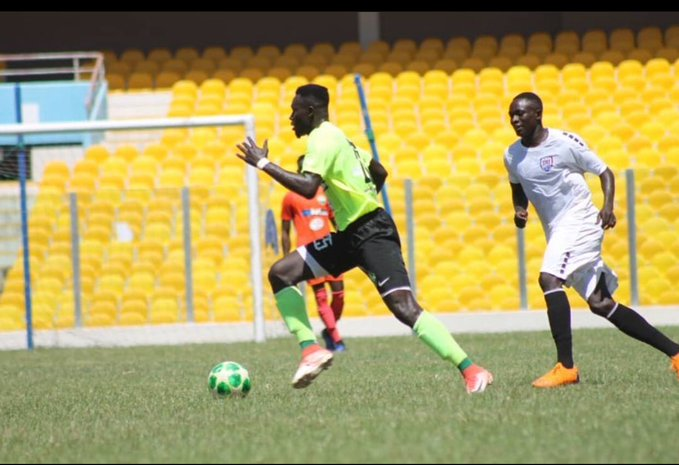 Inter Allies clobber Dreams FC 3-1 in a friendly