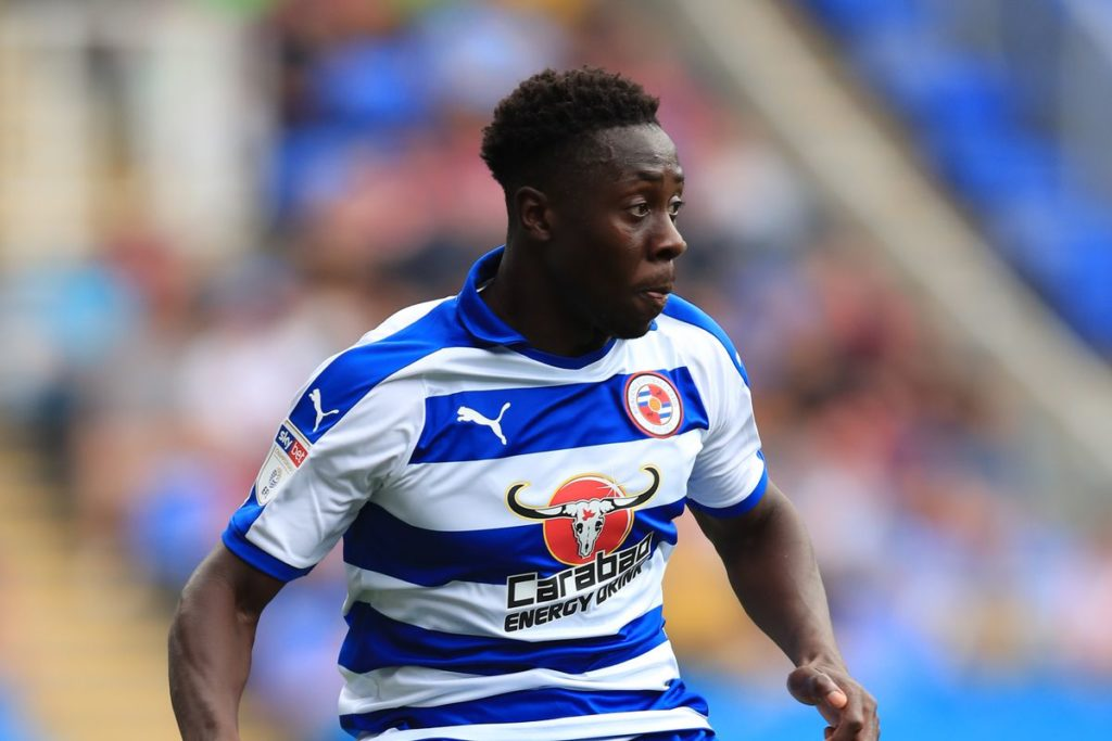 Andy Yiadom missed Reading defeat at home to Leeds United through suspension
