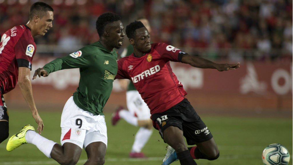 EXCLUSIVE: Baba Rahman returns to training at Real Mallorca after two months out with injury