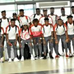 PHOTOS: Black Meteors leave for CAF U-23 Championship in Egypt