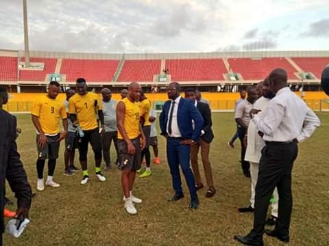 Flying start for Ghana FA President Kurt Okraku with successes on all fronts