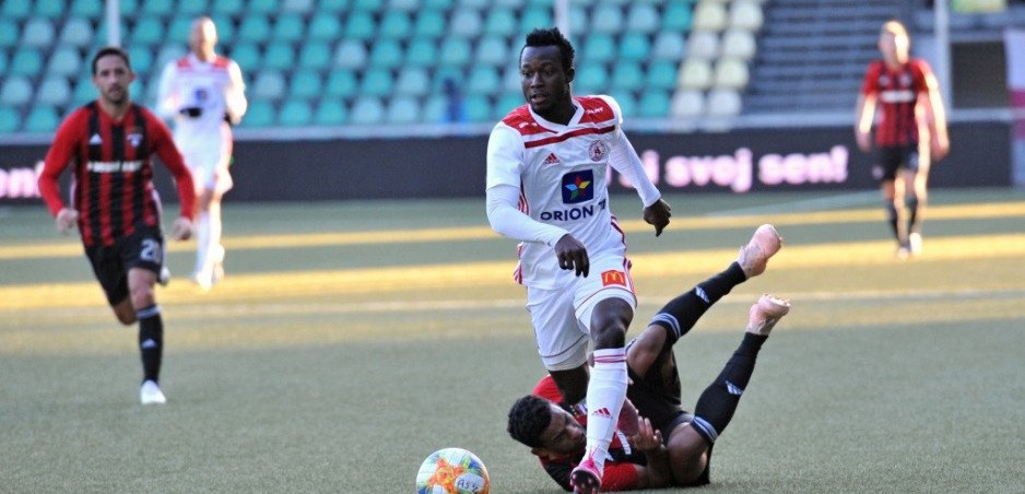 EXCLUSIVE: Ghanaian duo Osman Bukari and Benson Anang named in Team of the Week in Slovakia