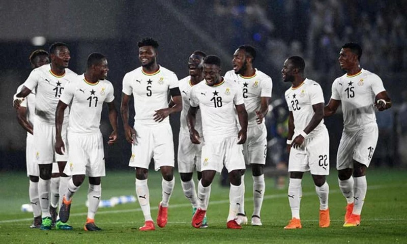 Black Stars move up four places in latest FIFA Rankings