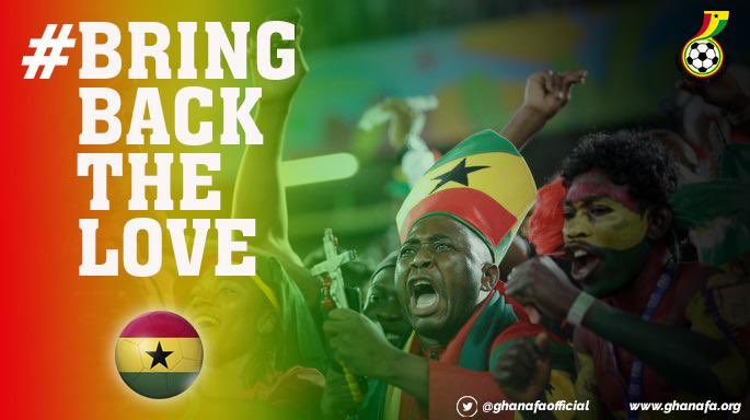 "Andre Ayew pooh-poohs ""Bring back love campaign"" insists there is LOVE for Black Stars"