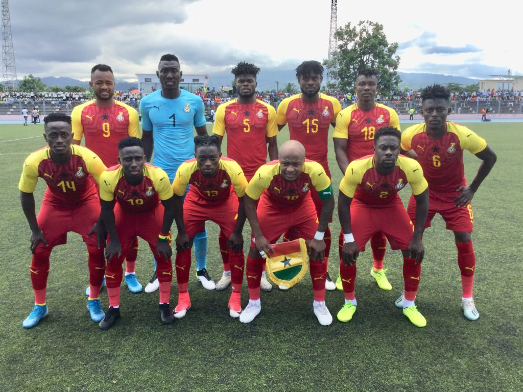 Black Stars register clean sheet after two matches in 2021 AFCON qualifiers