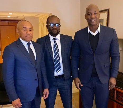 CAF President assures GFA President Kurt Okraku of full support
