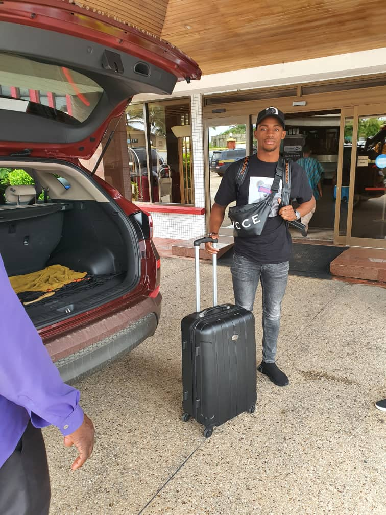 Christopher Antwi-Adjei feels at home after joining Black Stars camp