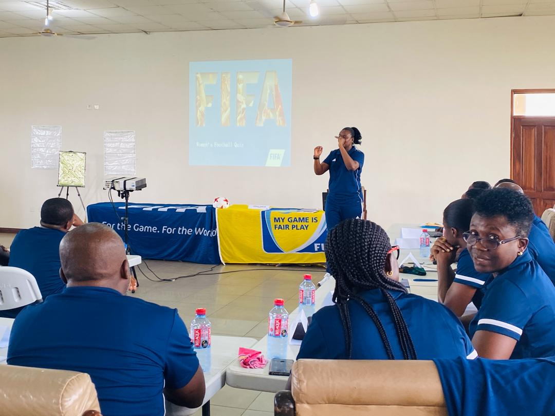 FIFA Women's coaching course underway in Pampram