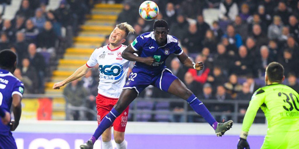 Anderlecht defender Derrick Luckassen advises Jeremy Doku to use his speed to his advantage