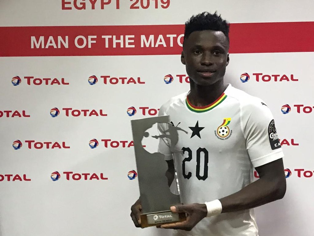CAF U-23 Cup of Nations: Man of the Match Evans Mensah promises better performance against Egypt