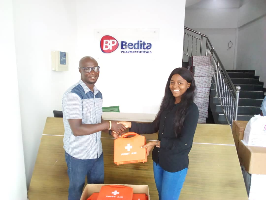 Bedita Pharmaceuticals supports GARFA with medical kits ahead of National U-15 scouting program