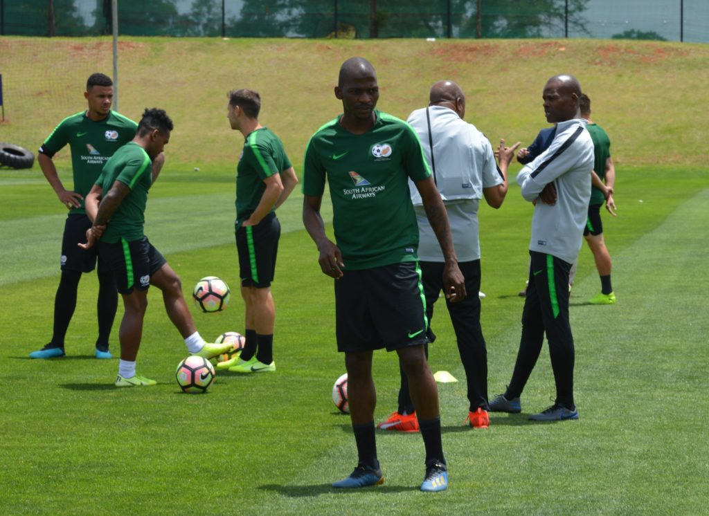 2021 AFCON Qualifiers:South Africa to train in Cape Coast today ahead of Ghana clash