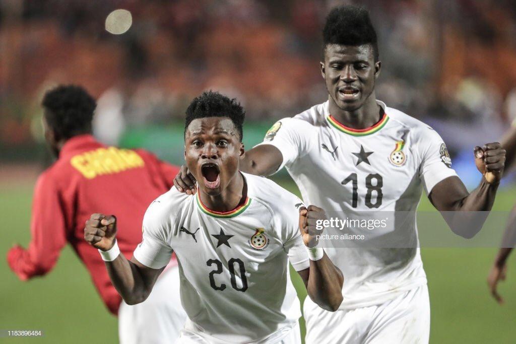 Ghana star Evans Mensah 'celebrates' 2019 CAF U23 Cup of Nations Best XI feat